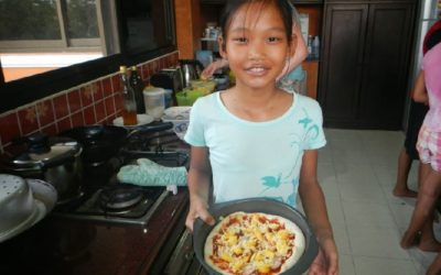 Pizza Night in Thailand