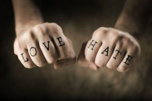 Haters, Lovers and The Golden Rule